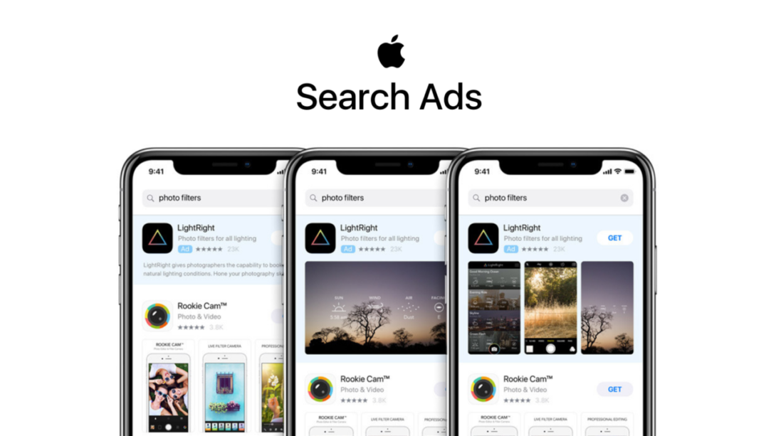 Image result for apple search ads 2019